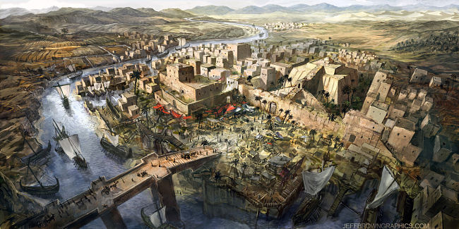 Ancient Mesopotamia by Jeff Browns (Novelas históricas de Egipto)