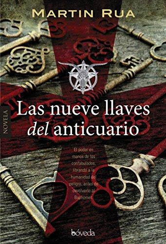 Las nueve llaves del anticuario, de Martín Rua (Novelas históricas medievales sobre las Cruzadas)