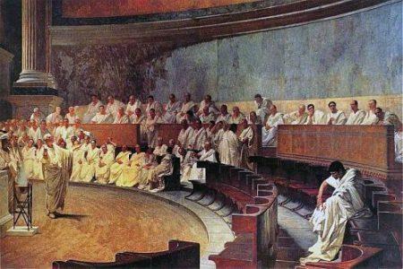 Cursus honorum y las funciones del Senado romano