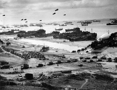 En Que Consistio El Desembarco De Normandia El Dia D