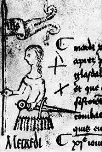 Imagen real de Juana de Arco