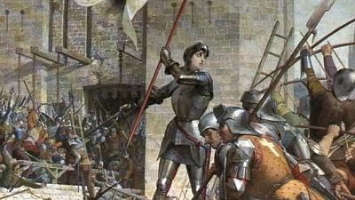 Juana de Arco en el asedio de Orleans
