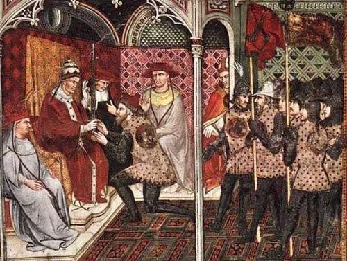Juramento de vasallaje en el feudalismo