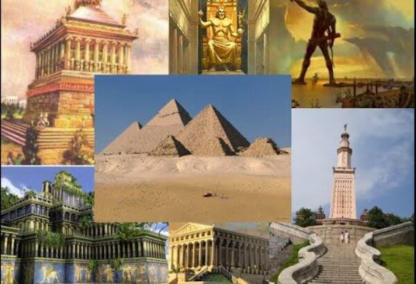 Cuáles son las 7 maravillas del mundo antiguo