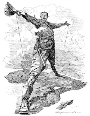El imperialismo en el siglo XIX y el coloso de Rhodes