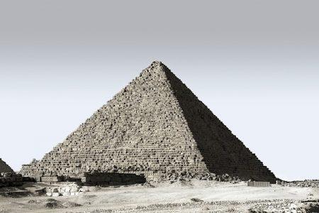 La pirámide de Guiza (Una de las siete maravillas del mundo antiguo)