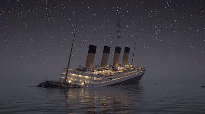 Llamada de socorro del Titanic a la 0130