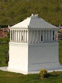 Mauseoleo de Halicarnaso (Una de las 7 maravillas del mundo antiguo)