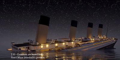 Mensaje de auxilio del Titanic a las 0210