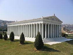 Templo de Artemisa en Éfeso (Una de las 7 maravillas del mundo antiguo)
