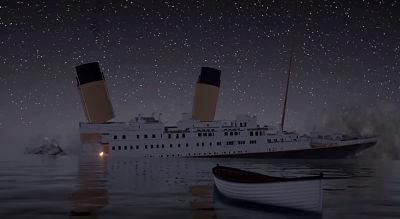 Ultimo mensaje del Titanic a las 0217