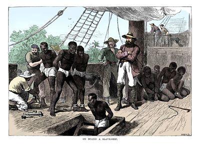 Venta y Comercio de esclavos africanos en América
