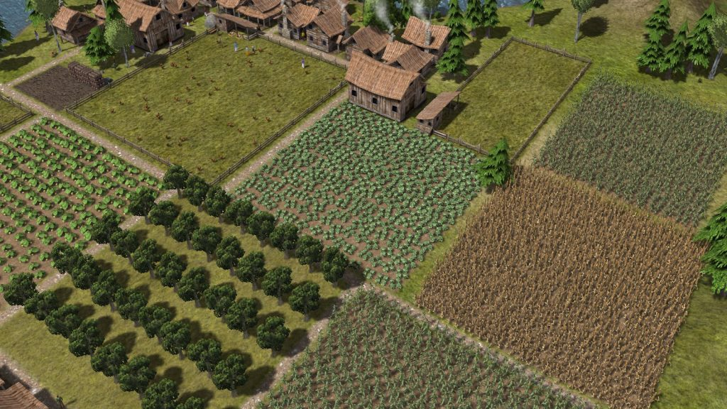 Agricultura en Banished PC Steam
