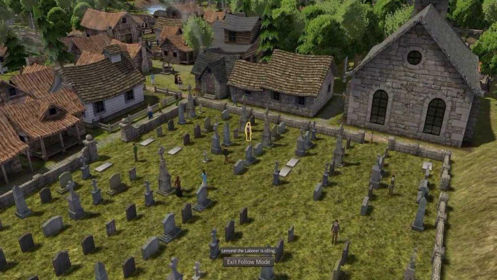 Cementerio en Banished PC para Steam