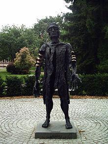 Estatua de Publio Quintilo Varo, el general romano en la batalla de Teutoburgo