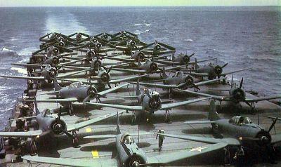 Bomarderos en picado y torpederos